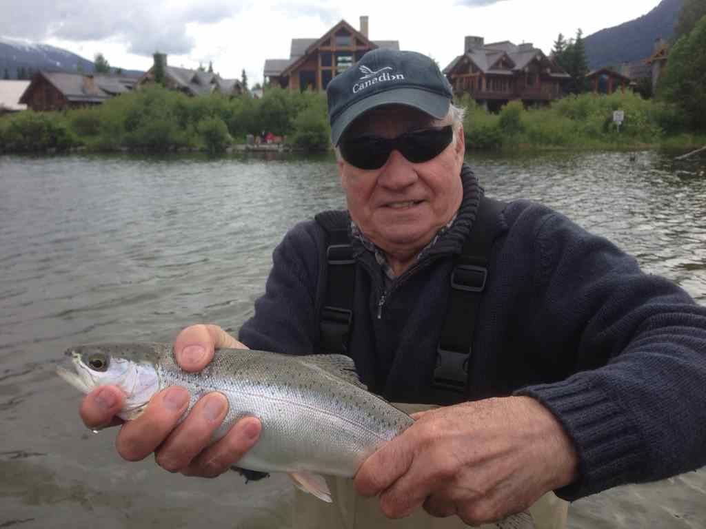 Best fishing in Whistler BC