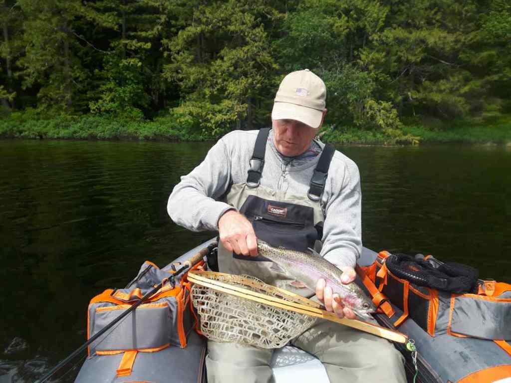 Great fly fishing trips in Pemberton BC Canada Ivey Lake