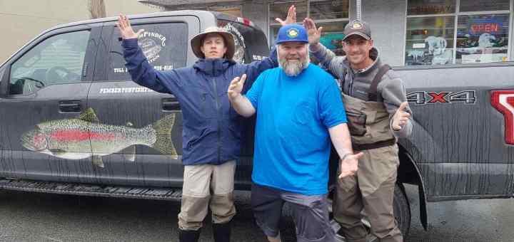 Proud Announcement Pemberton Fish Finder winner of 2017 Favorite Outdoor Guide