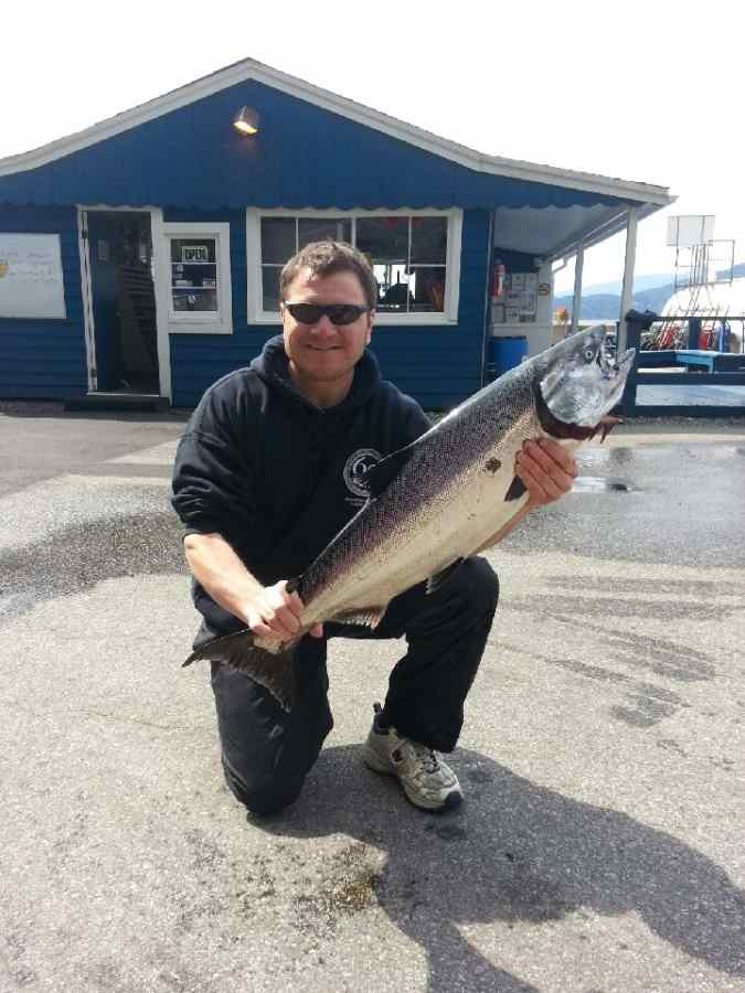 Salmon fishing Trips Vancouver BC