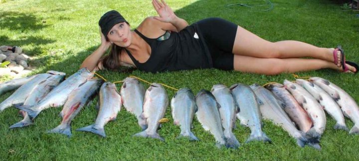 Salmon fishing in Vancouver