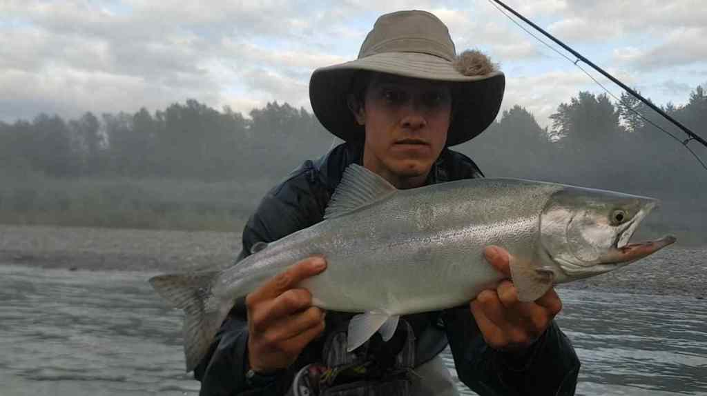 best pink salmon fly fishing in Canada