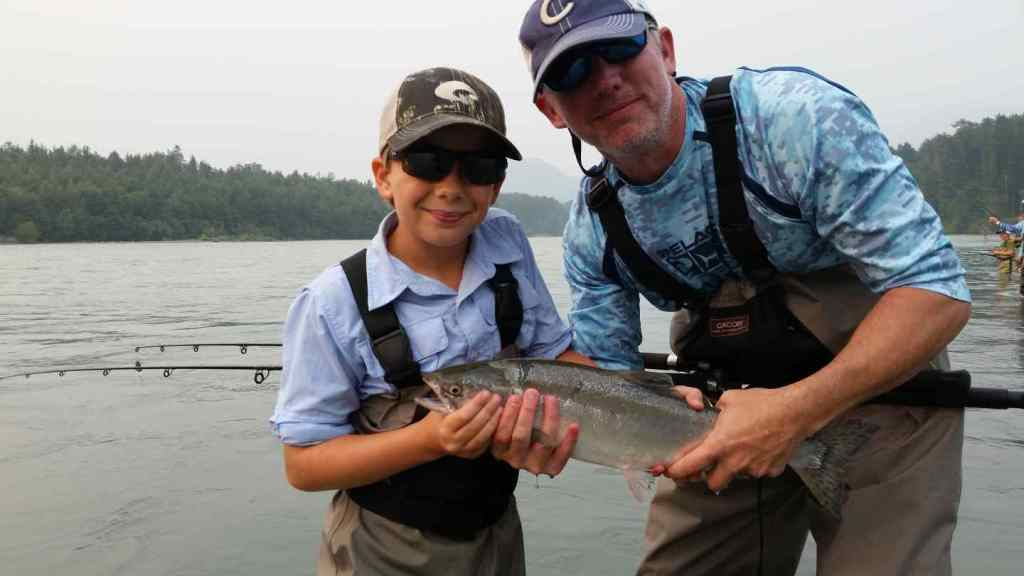 Fishing for Pink Salmon in Squamish BC