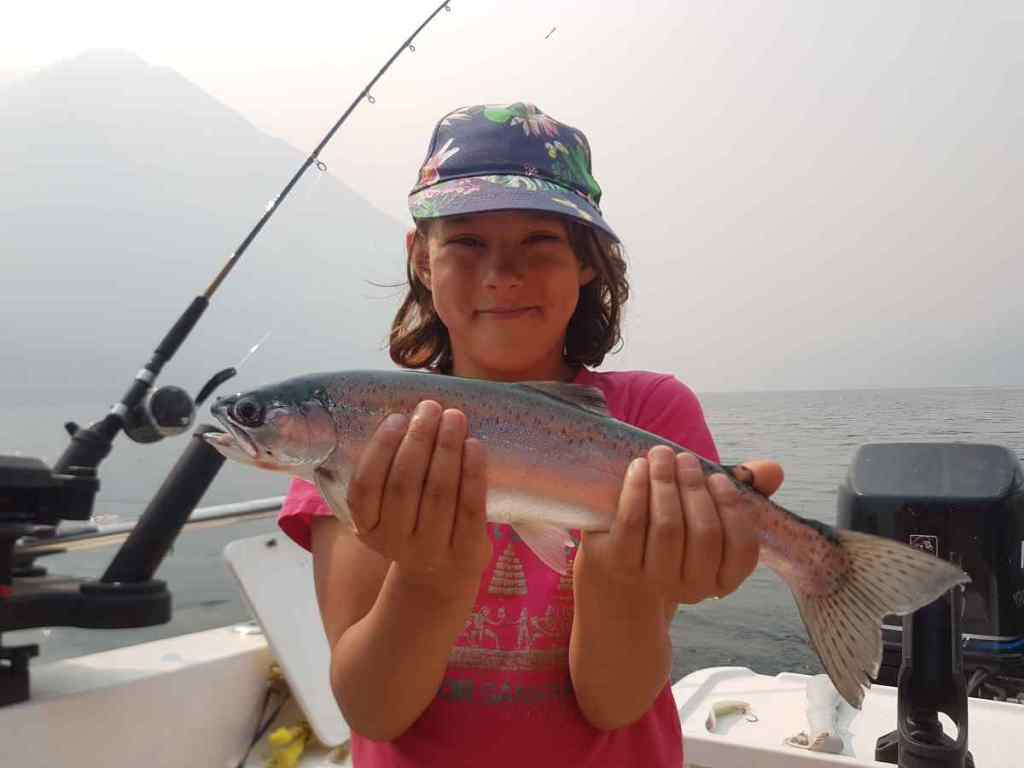 Kids fishing trips in Canada