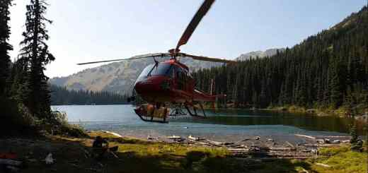 A fun thing to do in British Columbia Heli Fishing trips in Canada
