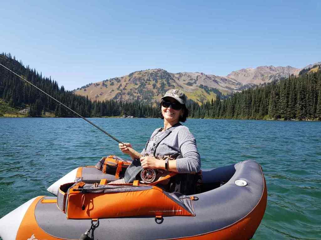 Alpine Lake Fishing