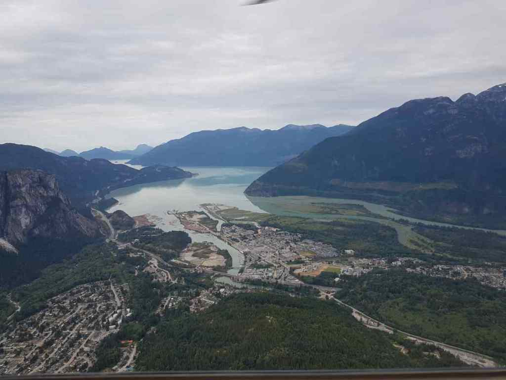 British Columbia from a Helicopter