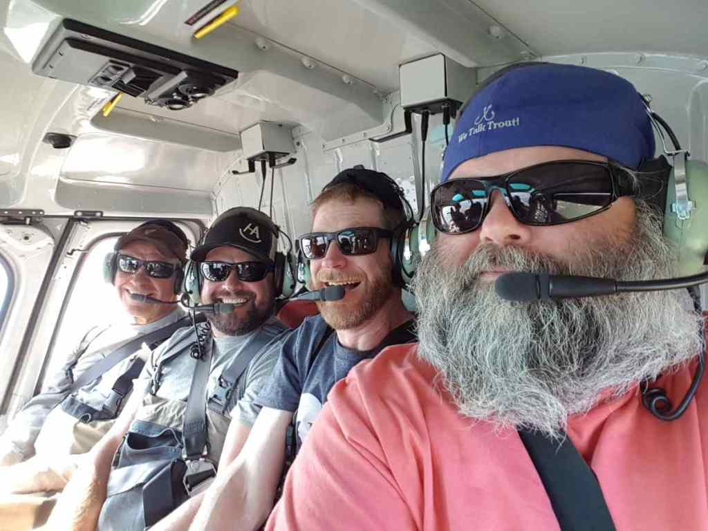 Helicopter Fishing trips Canada
