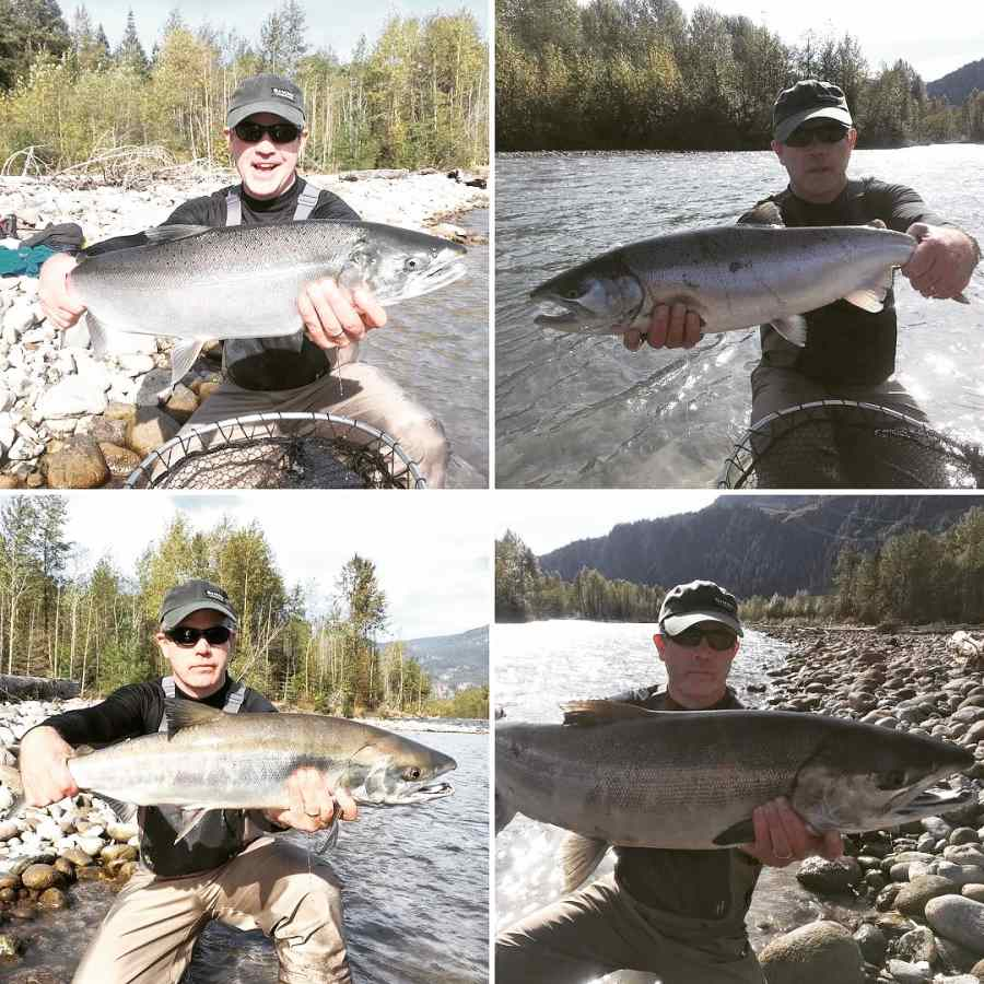 Just a few pics from a great day of fly fishing in Canada