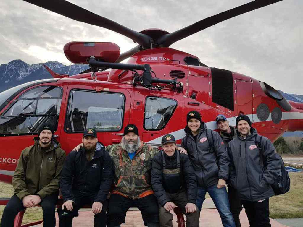Heli fishing trips in Canada