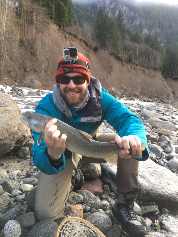 Fly fishing trips in Whistler BC
