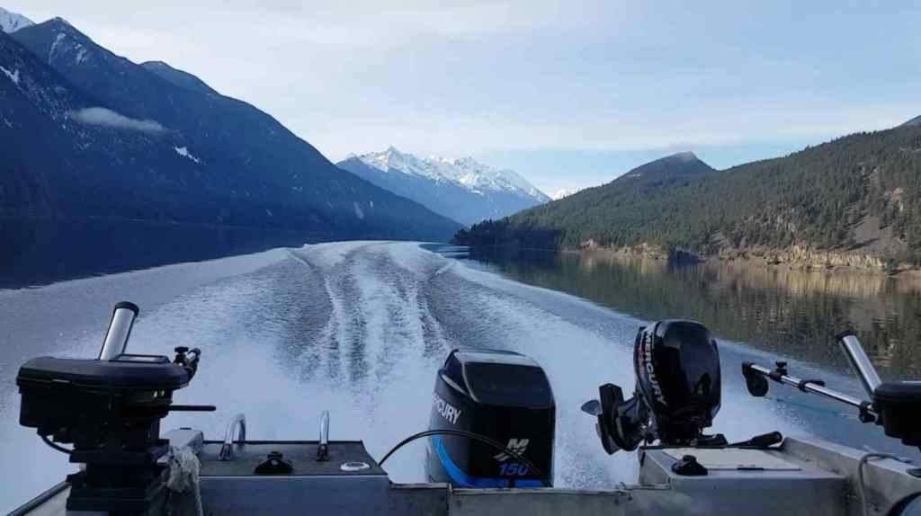 boat fishing trips in BC Canada