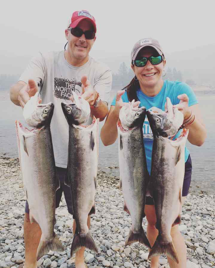 Sockeye Salmon Fishing in BC Canada