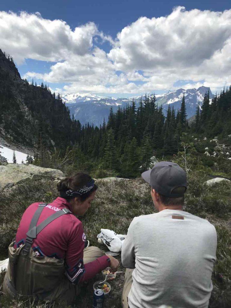 Picnic in the Alpine
