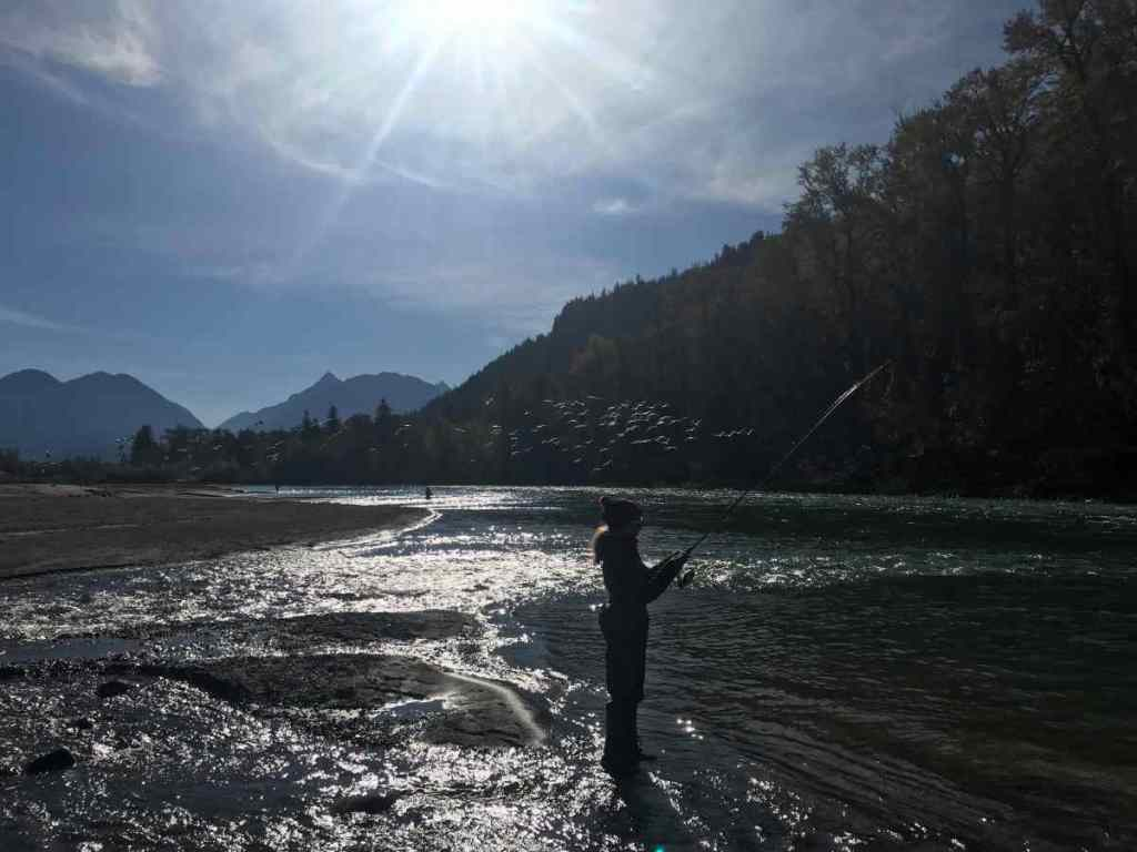 Beautiful fishing spot in BC