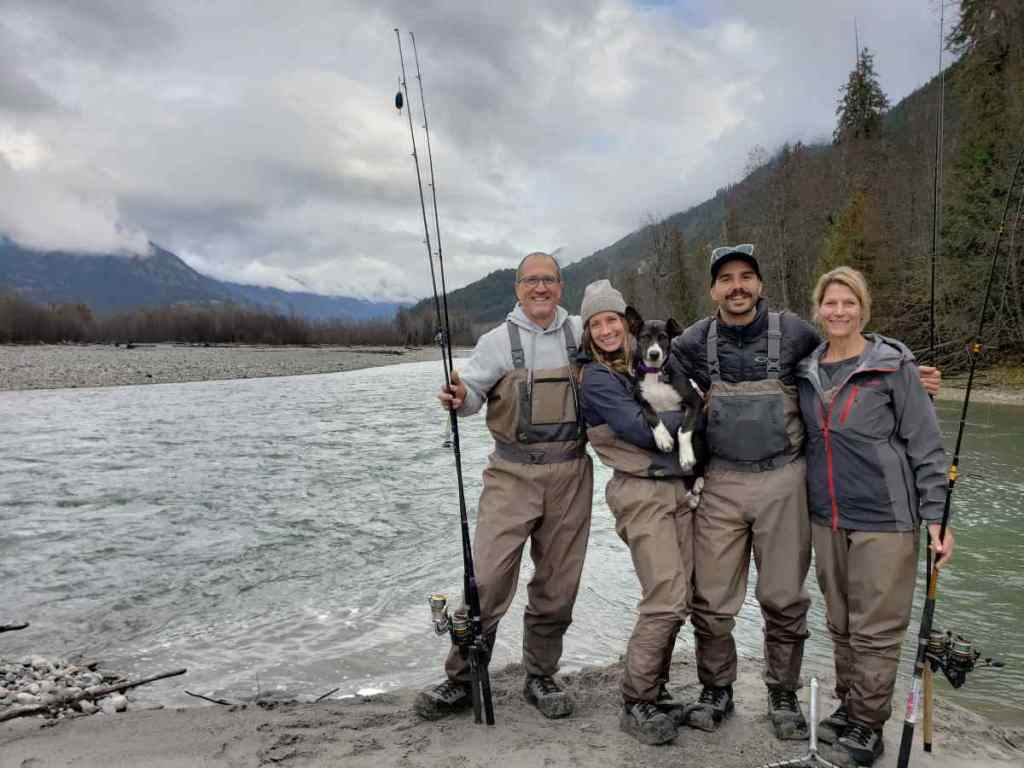 Salmon fishing guides in BC