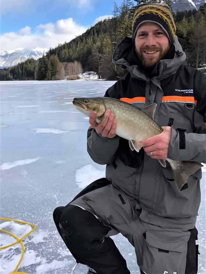 Best Ice fishing in Whistler BC
