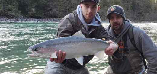 Steelhead Fishing trips in British Columbia Canada