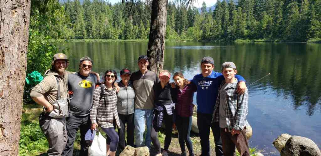 Family fishing trips in BC Canada