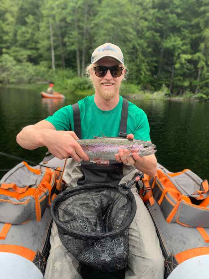 Float Tube Fly Fishing