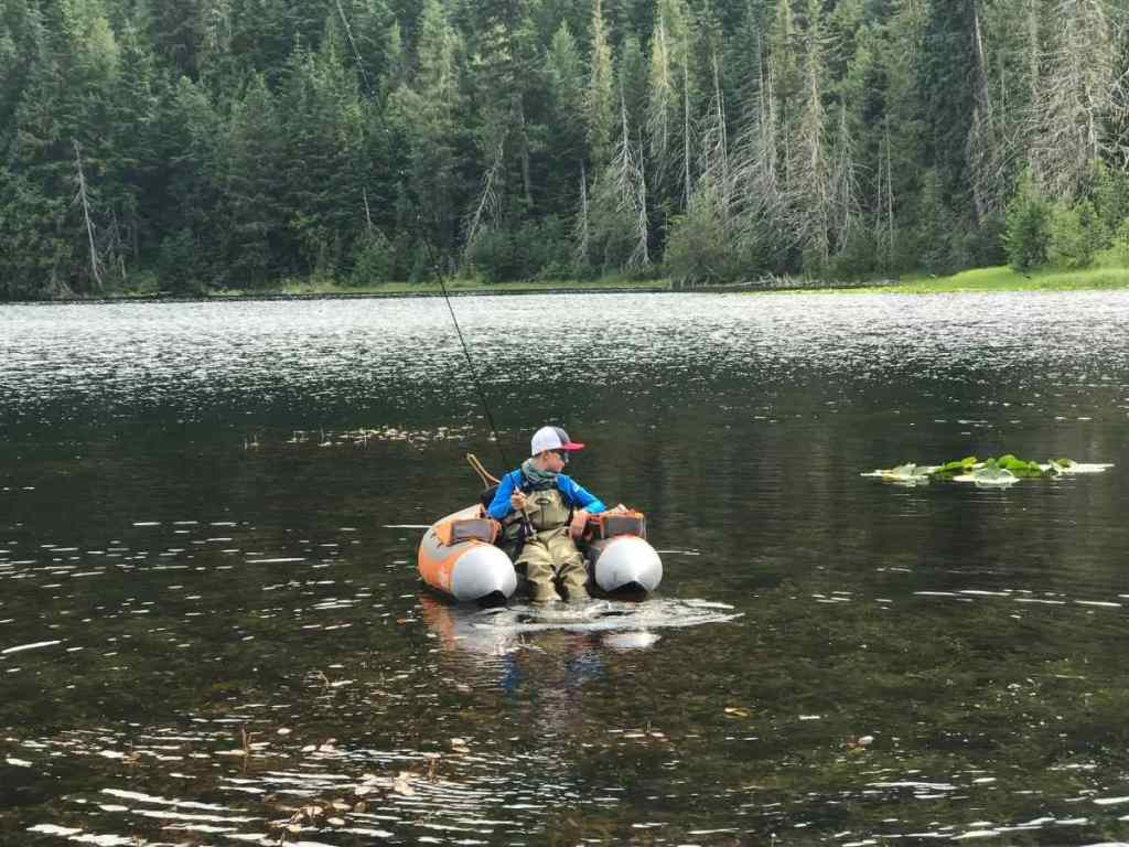 remote float tube fly fishing trips in Whistler Canada