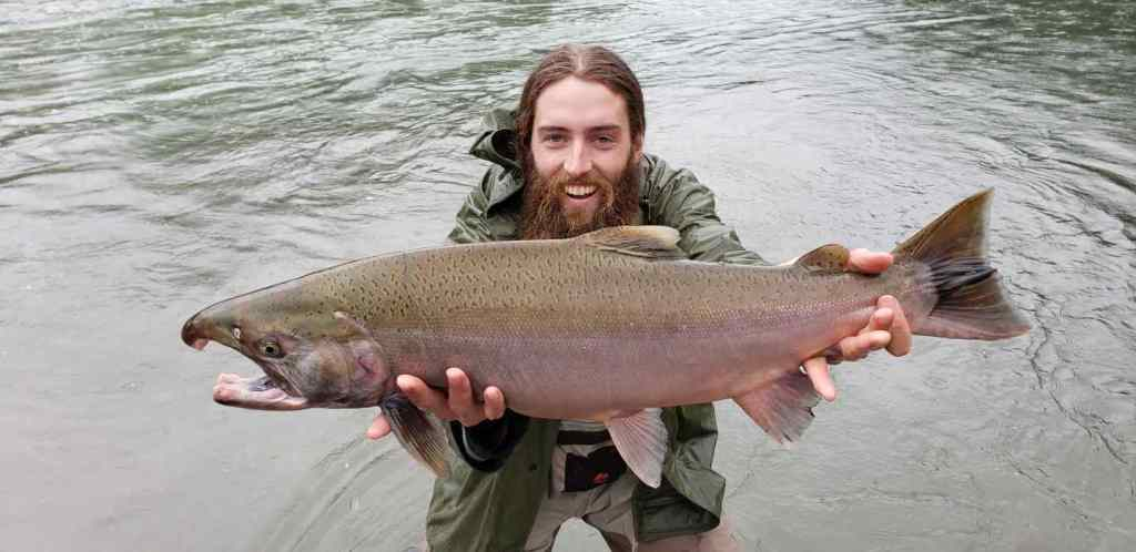Freshwater Salmon Fishing