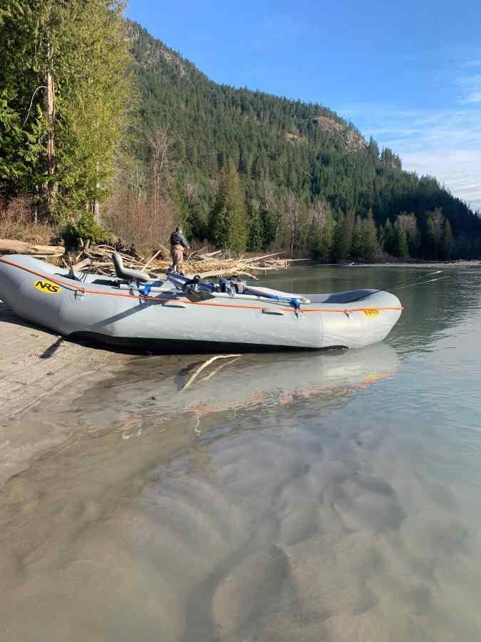 Raft fishing trips in BC