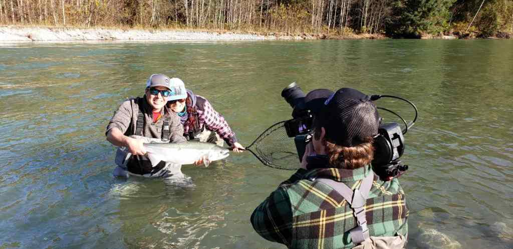 fishing for silvers in BC Canada