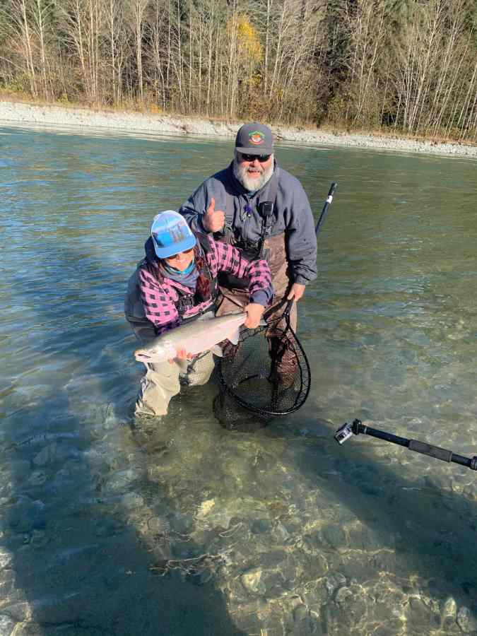 where to fish for Salmon in British Columbia