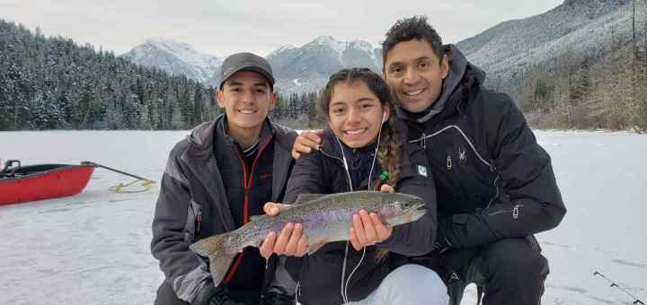 Best ice fishing in BC