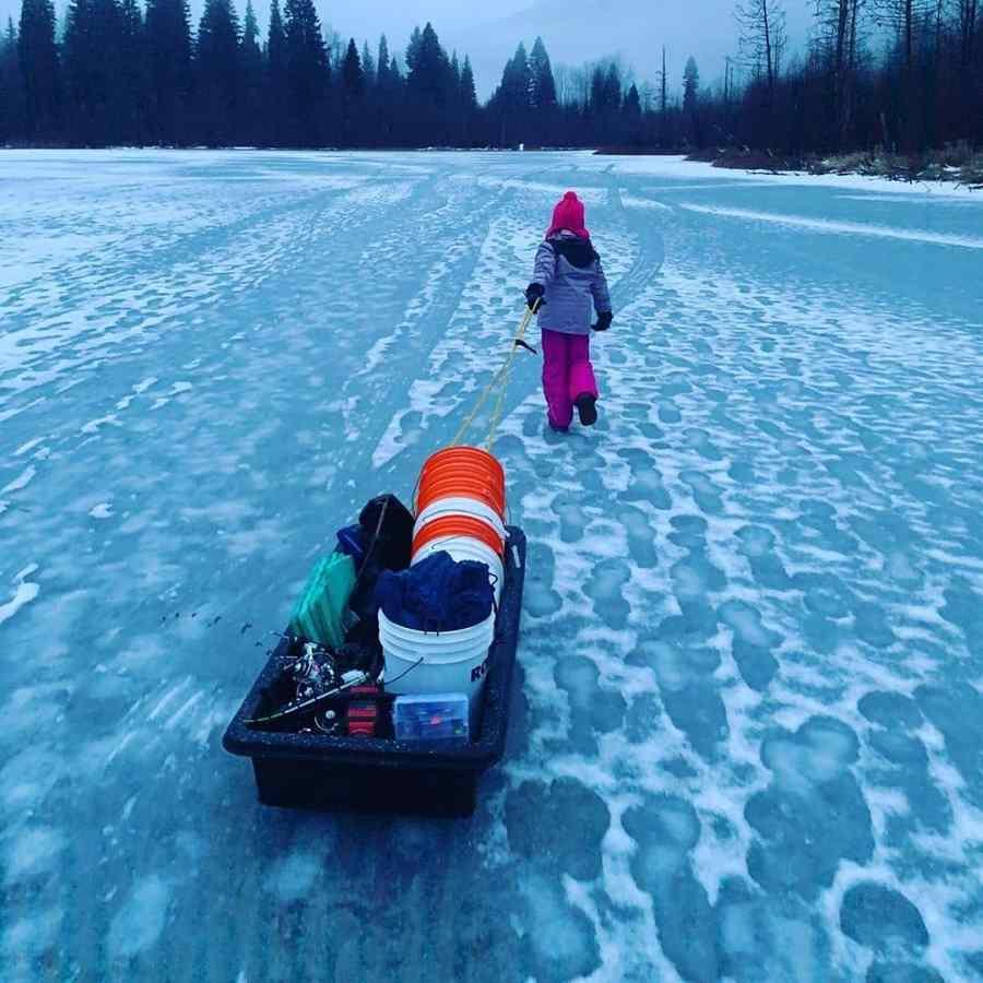 Whistler Ice fishing trips