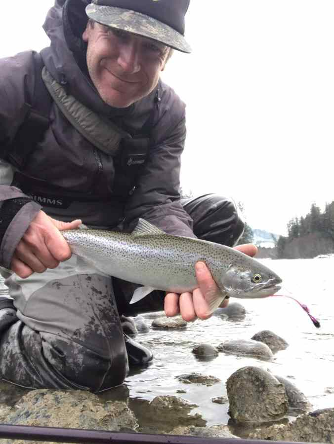 Winter fly fishing trips in BC