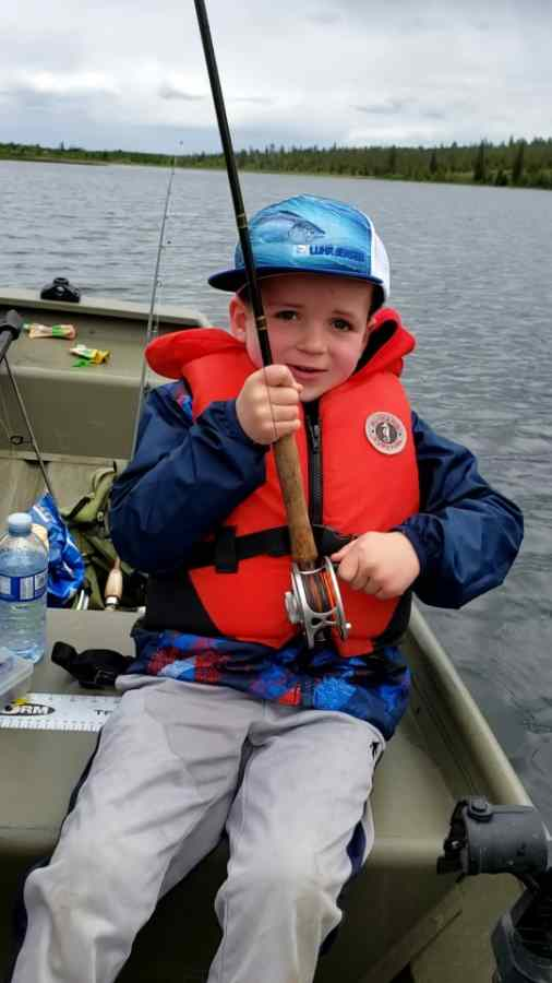 fly fishing with kids in BC