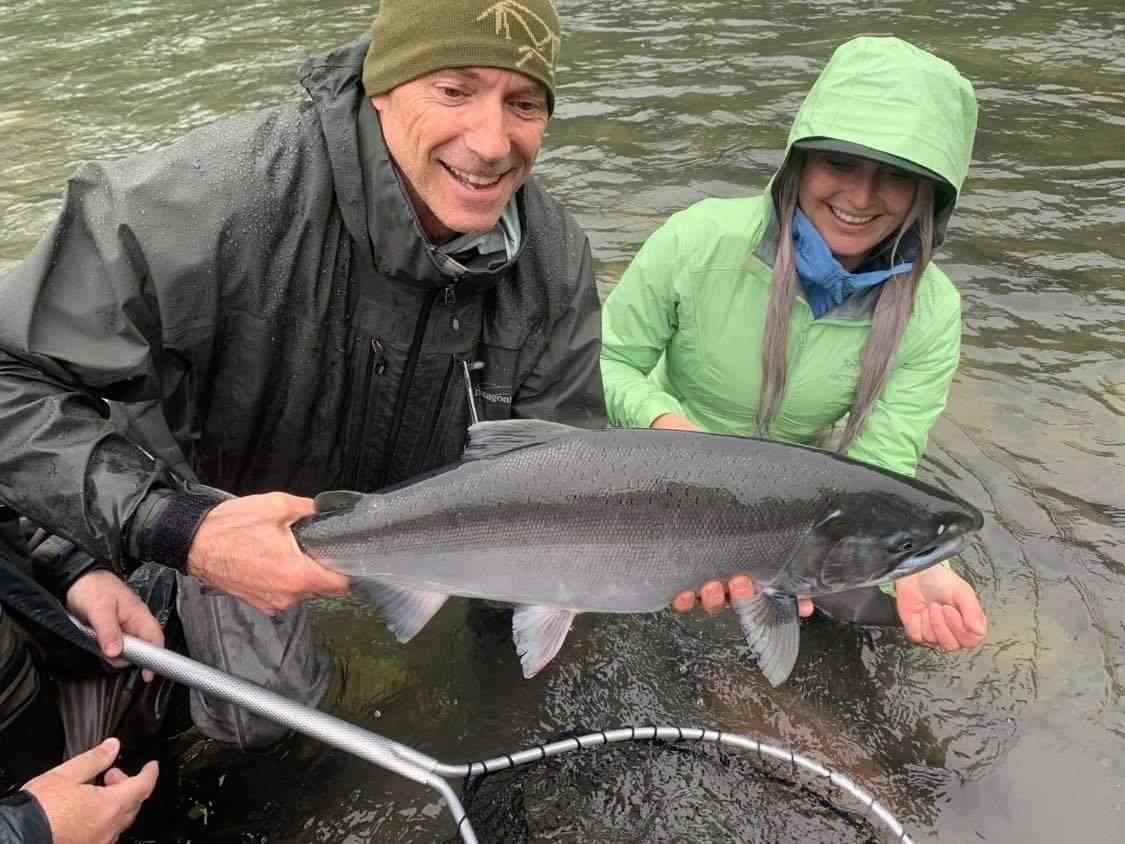 Coho Salmon fishing trips in British Columbia Canada