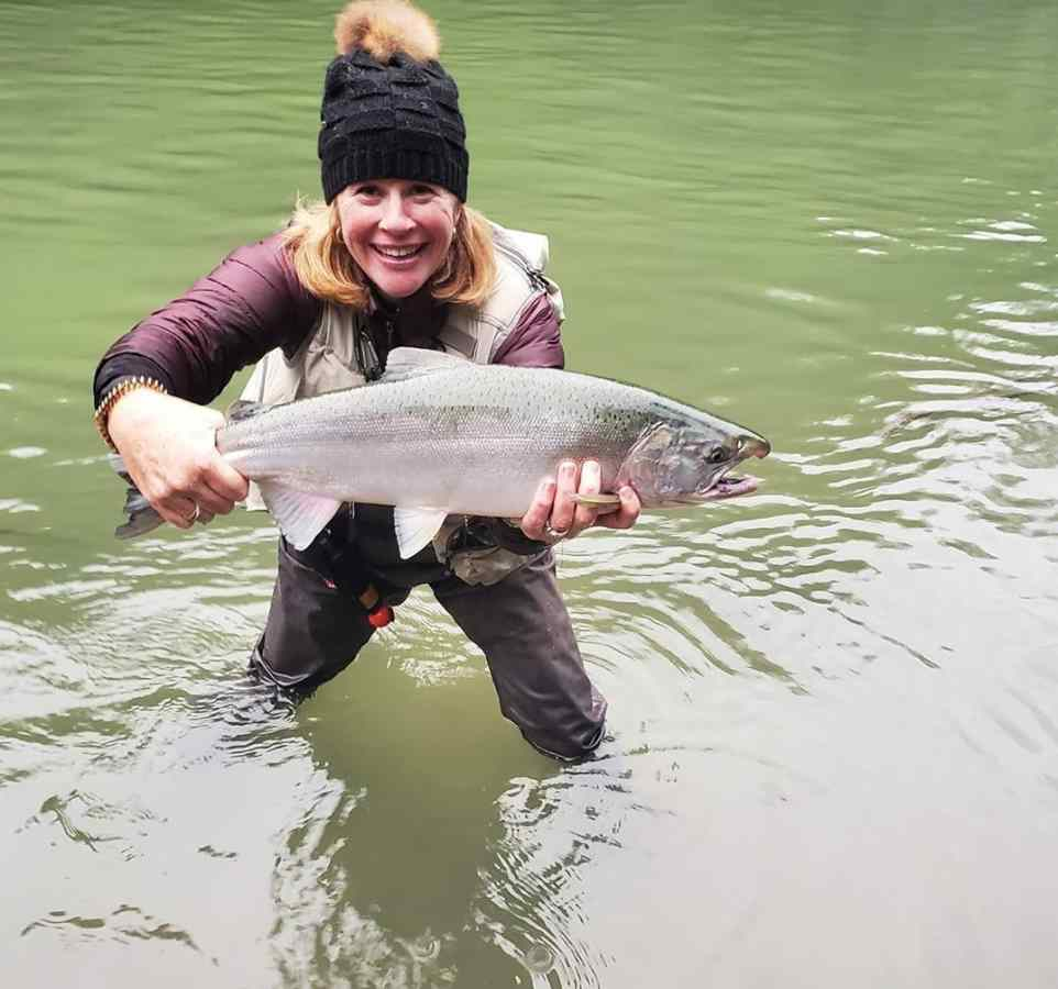 Fishing for Coho Salmon in Canada