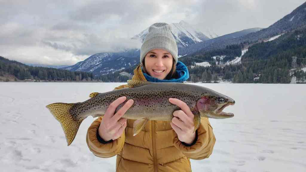 Guided Ice fishing trips Canada