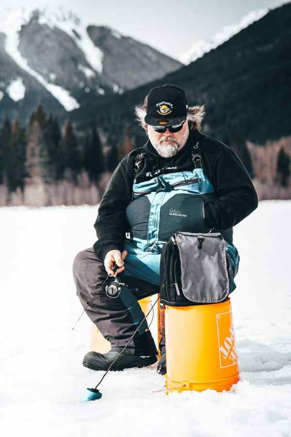 Ice fishing guides BC