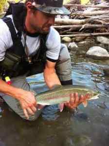 Fishing Whistler