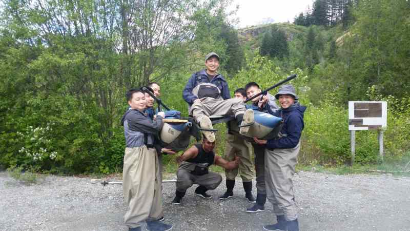 Whistler team building activities