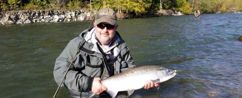 Fishing in Squamish