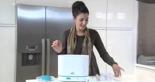 Philips buharlı sterilizatör biberon temizleyici