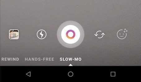 Instagram slow mo