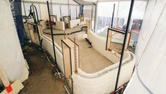 1022 metrekarelik 3D baskılı ev, inşaat camiasında çok fazla ilgi uyandırdı!