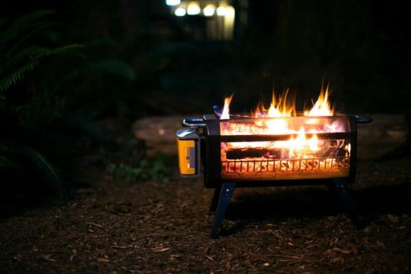 FireBit: Dumansız kamp ateşi!
