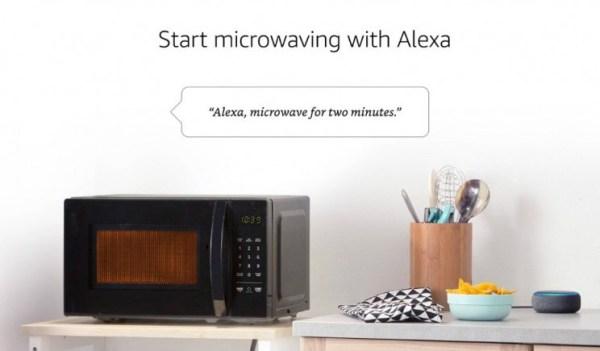 Alexa, daha fazla patlamış mısır, lütfen! Amazon ses kontrollü mikrodalga satışı başlattı!