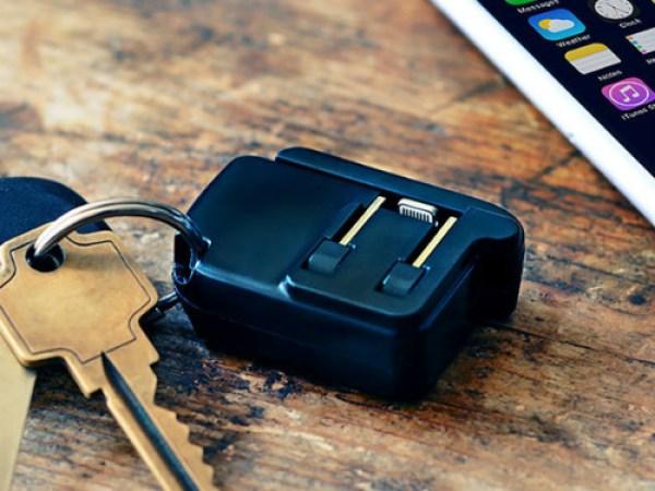Dünyanın en küçük telefon şarj cihazı Chargeritoile tanışın!