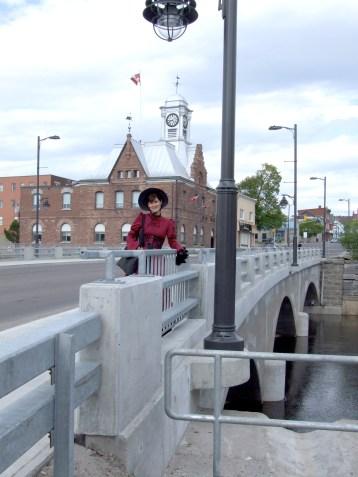 'Downtown Darkness' tour image, bridge, Treena Hein owner, May 2014
