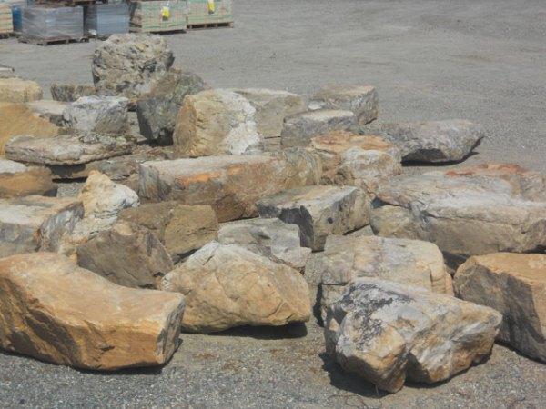 decorative boulders shelly lighting