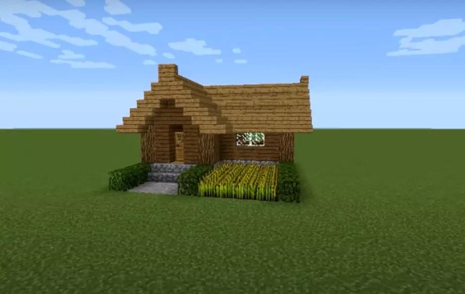 Легко и быстро - постройка домика в Майнкрафте