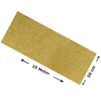 tapis 100 chanvre metre 0 50 m x 25 m x 0 5 cm epaisseur 12 5 m